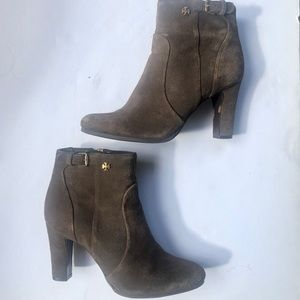 Tory Burch suede booties ! Size 8